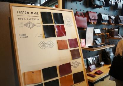 Workshop làm đồ da thủ công (ví, sổ, túi...)